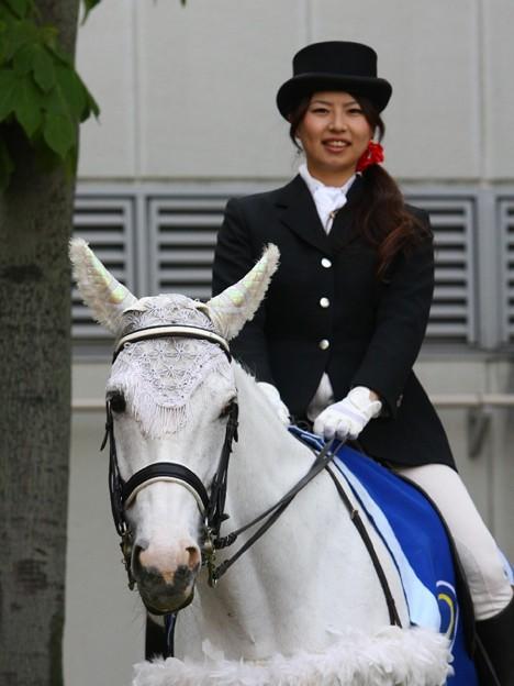 写真: 川崎競馬の誘導馬05月開催 こいのぼり青Ver-120514-11-large