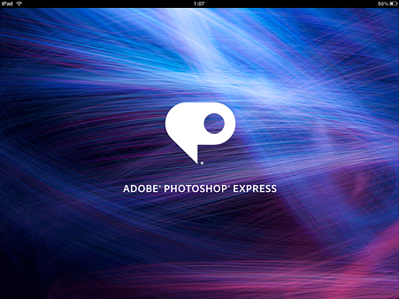Adobe Photosop EXPRESS for iPad