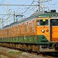 東海道本線時代を髣髴させる湘南色10連