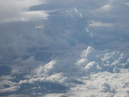 空からの景色