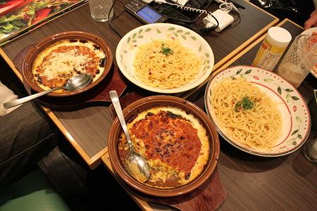 2010.04.03 サイゼリヤ 昼食