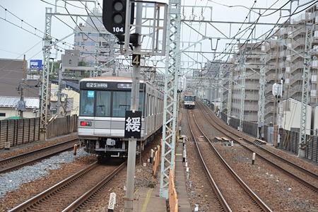 東京メトロ03系×2@梅島駅[5/16]