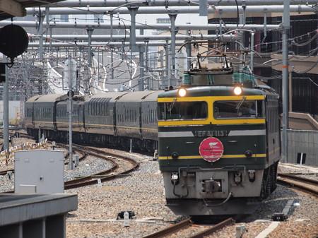 EF81 トワイライトエクスプレス 東海道本線大阪駅