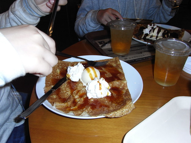 Photos: クレープアイス