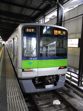 東京都交通局10-300形(橋本駅)2