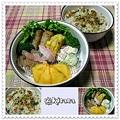 ◆11.24 たぬきご飯のお弁当(長女)♪