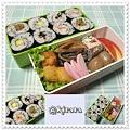◆11.29 のの字海苔巻ご飯のお弁当(長男)♪