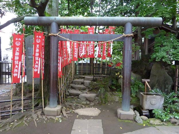 笑福稲荷大明神(月見岡八幡神社 内) 02