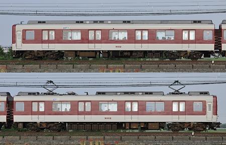近鉄9000系9002F(FW02)海側側面 2010.10.4