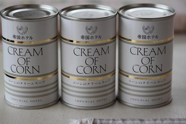 IMPERIAL HOTEL CREAM OF CORN(帝国ホテル コーンのクリームスープ)1