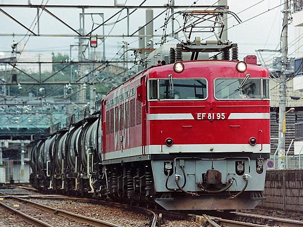 EF 81 95 貨物列車