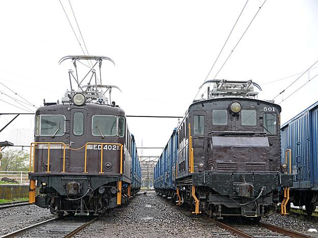 岳南鉄道 ED40とED50形電気機関車
