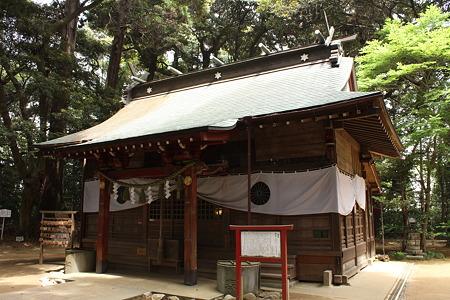 麻賀多神社 (成田市台方)・拝殿