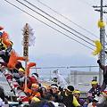 Photos: 上社御柱祭~本宮参之御柱~