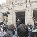 写真: 河野俊嗣新知事就任の日2