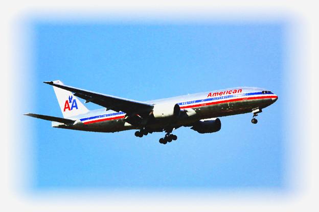 Narita International Airport American Airlines Boeing 777-200ER