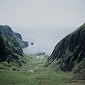 写真: 礼文島 桃岩と猫岩