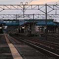 東北本線 野辺地駅 ホーム
