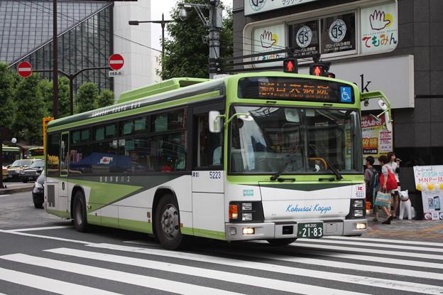 国際興業バス いすゞ・エルガ 5223号車