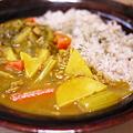 Photos: 野菜がイチョウ切りw