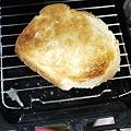 Photos: 魚焼きグリルでトースト