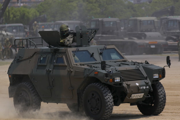 陸上自衛隊 大久保駐屯地 軽装甲機動車