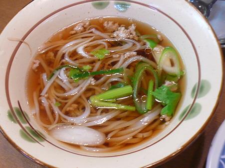 タイ料理 ザ・サイアム ランチバイキングのタイそば(フォー)
