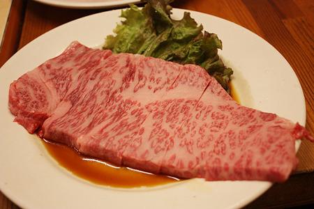 2010/08/13(FRI) 旭市・大衆肉料理 今久/前沢牛特選サーロイン 1人前 2100円