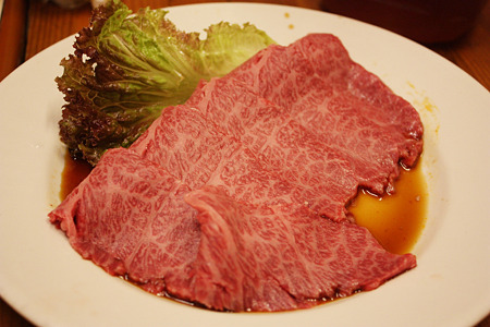 2010/08/13(FRI) 旭市・大衆肉料理 今久/前沢牛特上カルビ 1人前 1680円