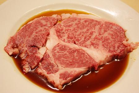 2010/08/13(FRI) 旭市・大衆肉料理 今久/和牛上ロース 1人前 1050円