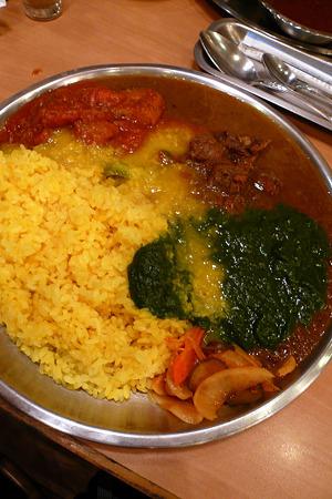 千葉 稲毛・カレーレストラン Shiba(シバ)/サービスターリ 1200円