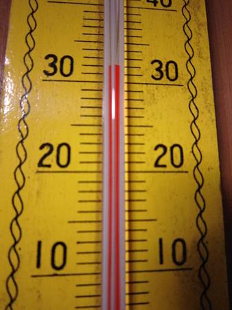 家の中の温度計