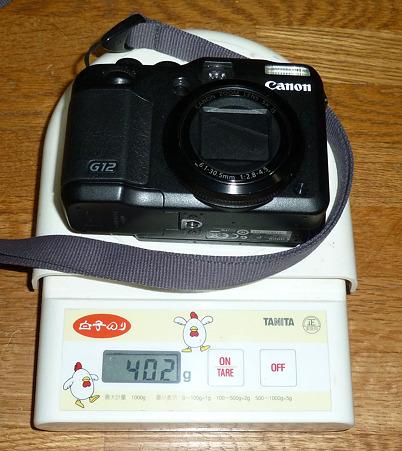 Canon G12 402g
