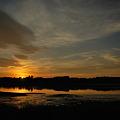 Sunset at Skolfield Shores
