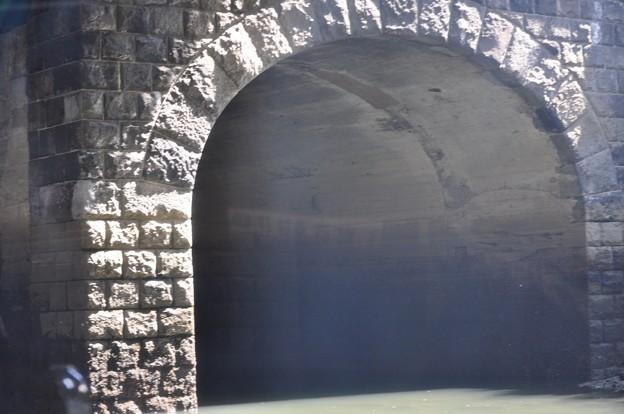 Tokyo水辺エコツアー@日本橋川にある水路トンネル_DSC_5706