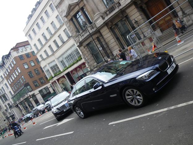 the line of ambassador cars