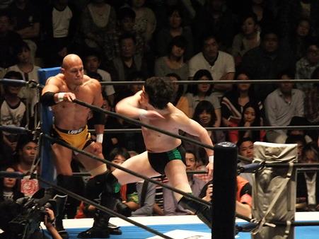 新日本プロレス BEST OF THE SUPER Jr.XIX Bブロック公式戦 田口隆祐vsロウ・キー (2)