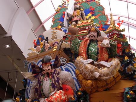 14 博多祇園山笠 走る飾り山 瑞祥七福神(ずいしょうしちふくじん)2012年 写真画像4