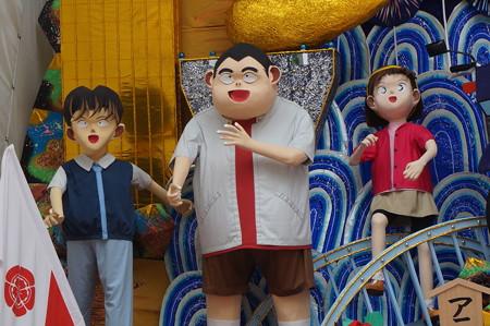 09 2014年 博多祇園山笠 飾り山笠 アニメ名探偵コナン (5)