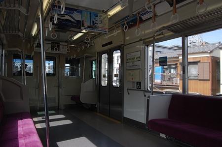 京成普通の車内