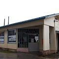 JR西日本・大糸線、北小谷駅
