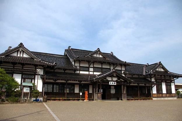 JR西日本・大社線、大社駅