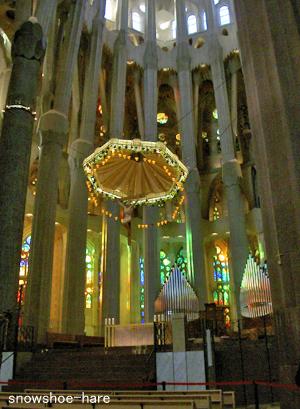 サグラダ・ファミリアの祭壇