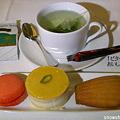 成田→パリの機内食・デザート
