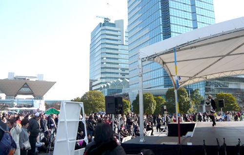 写真: 2011_東京大マラソン祭り0227