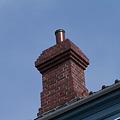 写真: 司祭館 煙突
