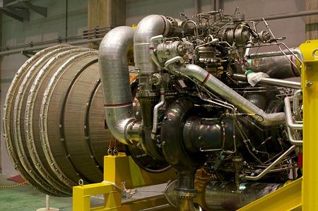 H-IIロケット第1段エンジン