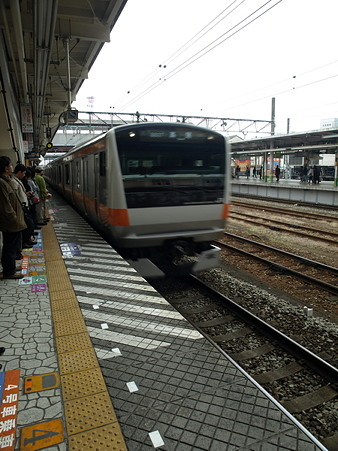 E233系(八王子駅)