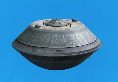 2010.06.13 はやぶさ 地球帰還カプセル 宇宙航空研究開発機構HPより