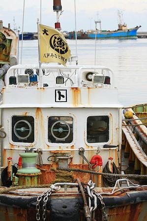 2010.10.28 八戸漁港 漁船